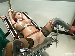 Hardcore, bondage, predominance and ass-fuck