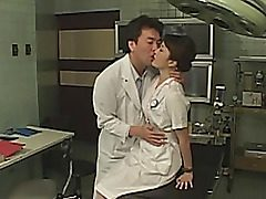 Cosplay takes place in a hospital. Everybody wants to smash a pretty asian female patient. They penetrate her muff with sex toys, perform exciting sploog until she's totally weakened