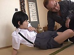 Naho Hazuki and Rina Hatsune are wild and alluring school girls getting out of their school uniforms and into some red-hot sex! There is slew of dildo play and handjobs for these femmes and the wild man they are with. Pose Sixty-nine and a rock hard p