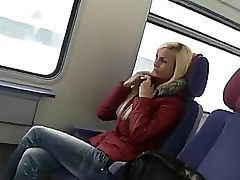 lovely german girl romp on public transport