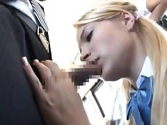 Lady give BBJ & got pounded to multiple orgasm on bus