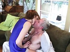 Teenager stunner drills old guy