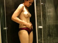 All-natural Bosoms Indian Girl Jasmine Taking Douche