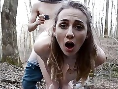 Amazing teenager has outdoor lovemaking with a audition agent Point of view