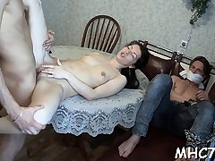 Hotwife beauty fucks some other stud