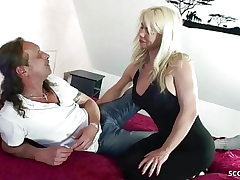 German Mom Fuck Step Brother and Step on in Family Story