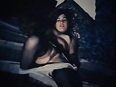 UNDER MY THUMB - antique 60's hairy hottie tease