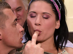 Cheating surprise for his young Czech wifey
